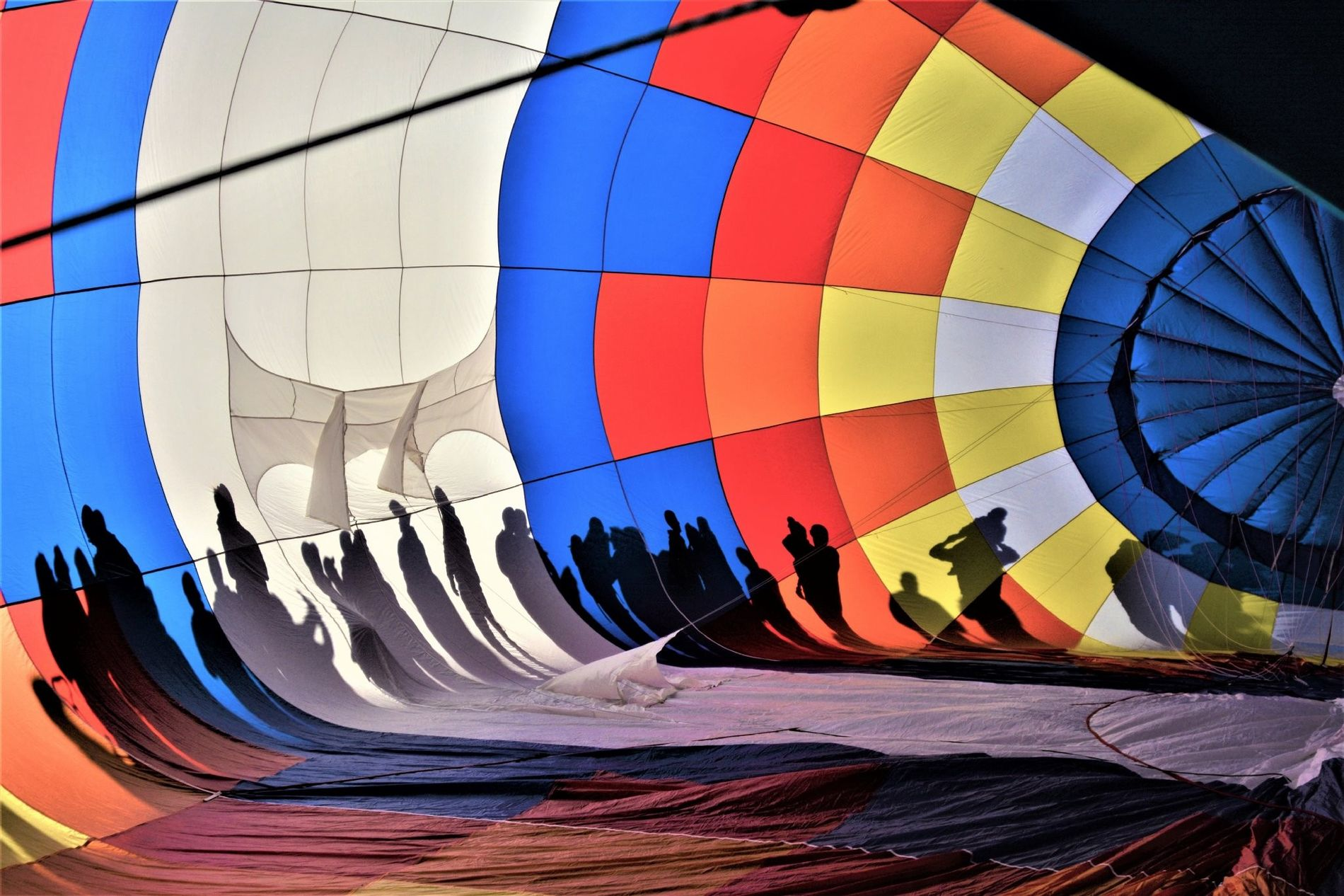 """For the first time I had the opportunity to go to Albuquerque and to enjoy this fascinating festival,"" writes Your Shot photographer Marise Zimmermann about her first visit to the Albuquerque International Balloon Fiesta in New Mexico. ""I became very curious in exploring and in photographing the balloons from the inside space; the various colours and the shadows created by the sun."""