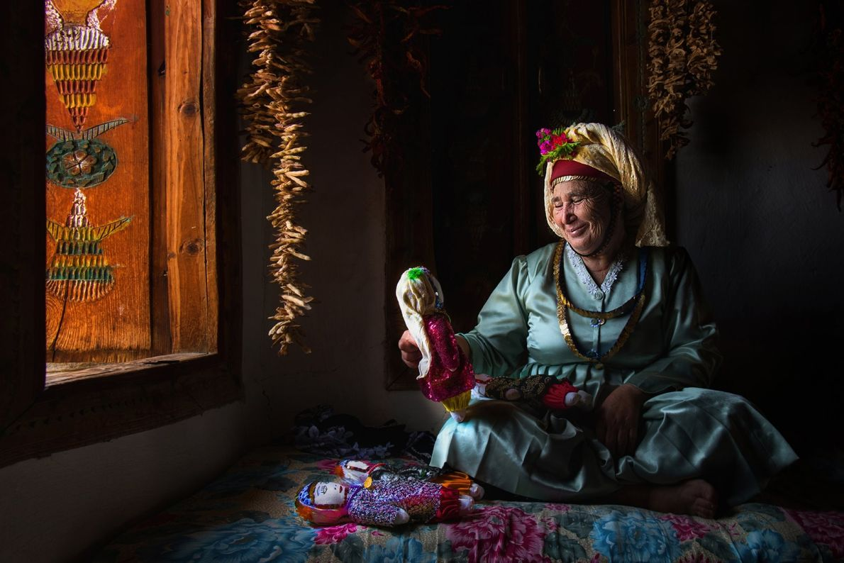 Your Shot photographer F. Dilek Uyar photographed this woman while making dolls to sell to tourists ...