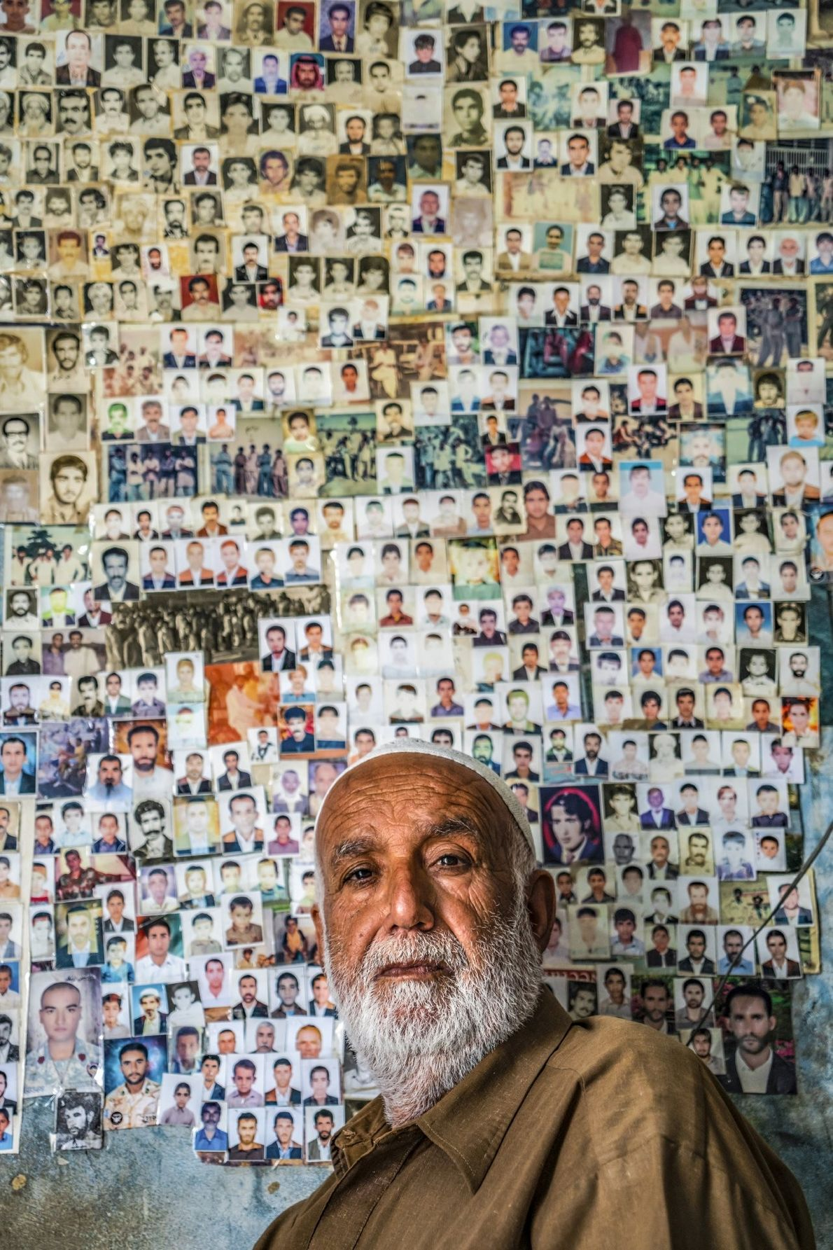 """""""A man in the village of Tis, insoutheastern Iran, has put his provincial photographs on the ..."""