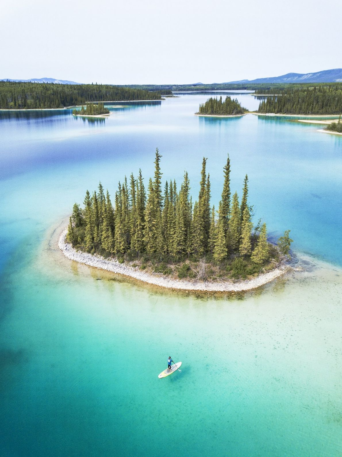 """I travelled over 20,000 miles in 2018 in search for the most epic lakes to paddleboard. ..."