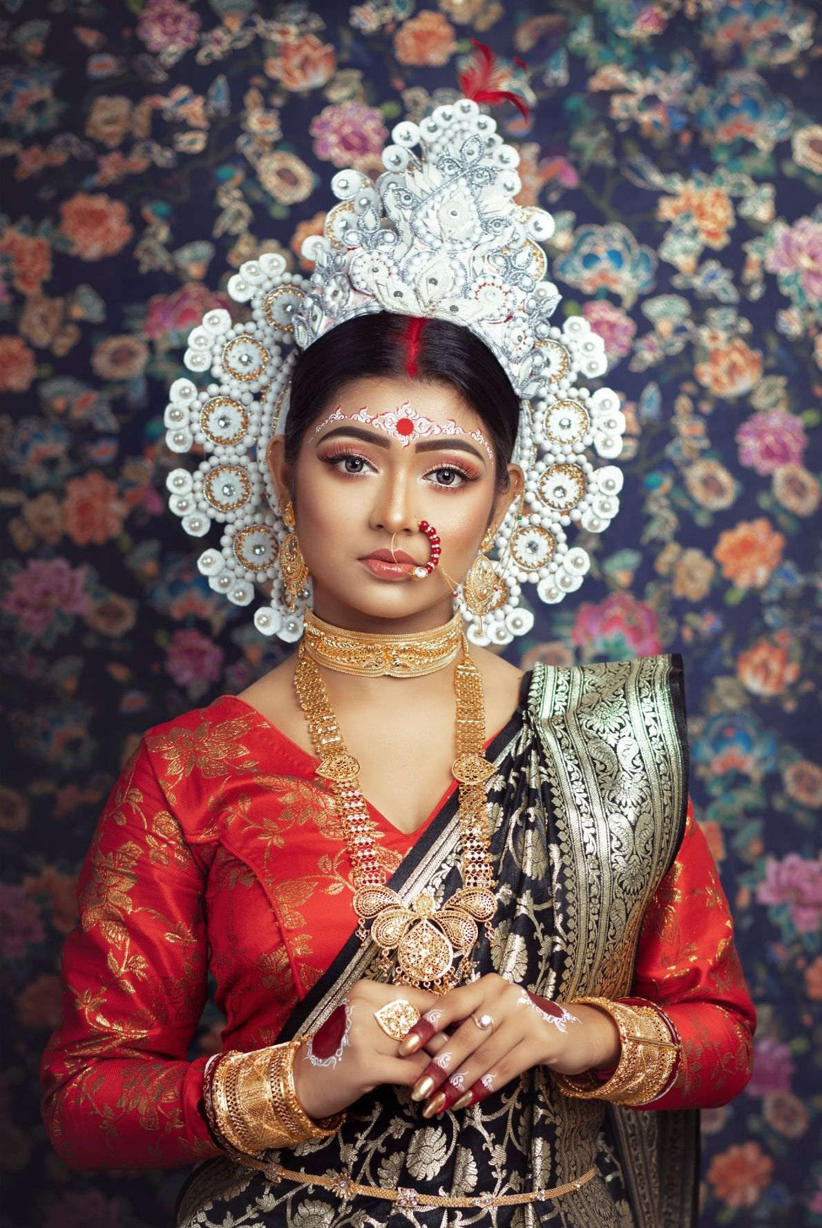 Your Shot photographer Paban Datta made this portrait of a bride in Bengal, India.