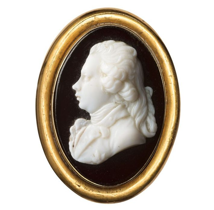 George, Prince of Wales. Cameo by James Tassie, circa 1790