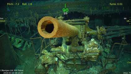 Sunken World War II Aircraft Carrier Found by Deep-Sea Expedition