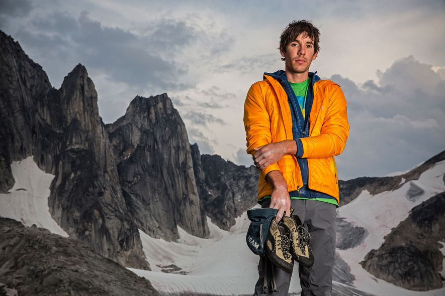 Alex Honnold, above, has become a media sensation with his death-defying climbs. A third of his ...