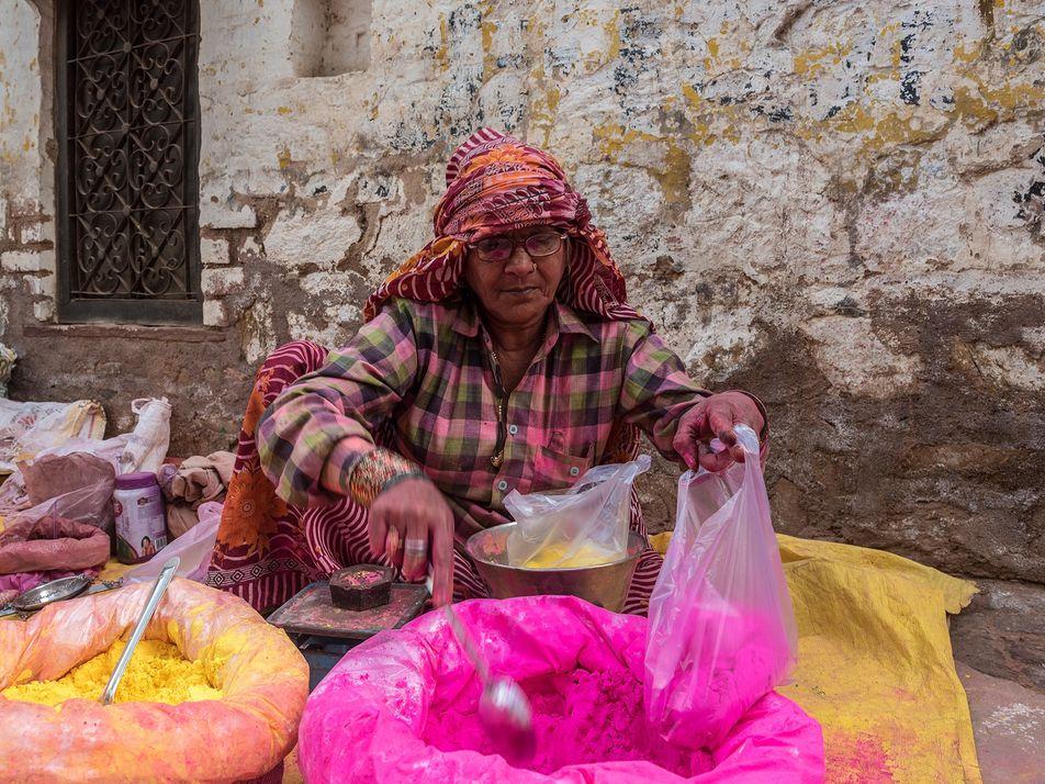 Photo gallery: celebrating Holi festival in India's Braj region