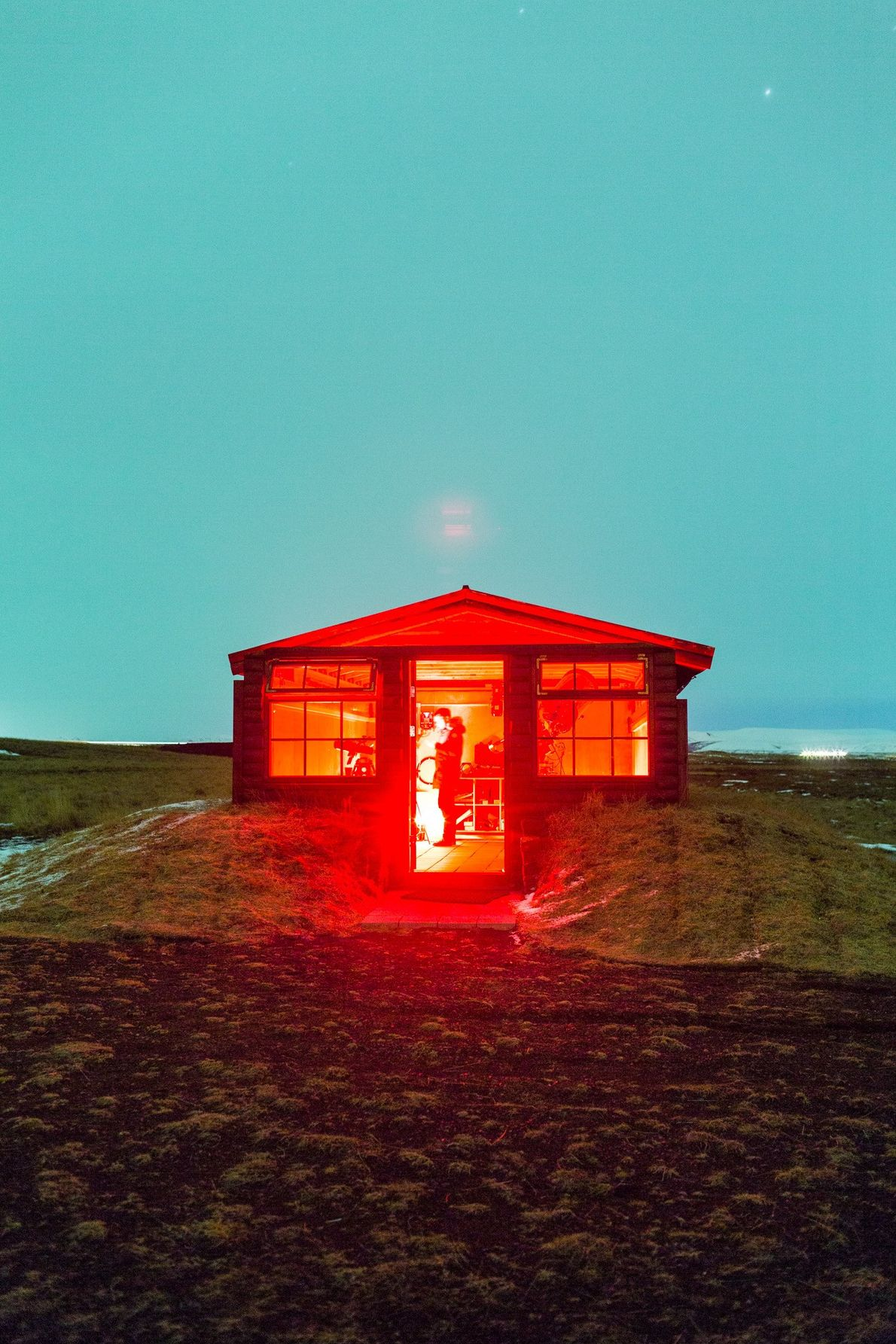 Iceland is such a popular destination for star-gazers that Hotel Rangá in the town of Hella ...