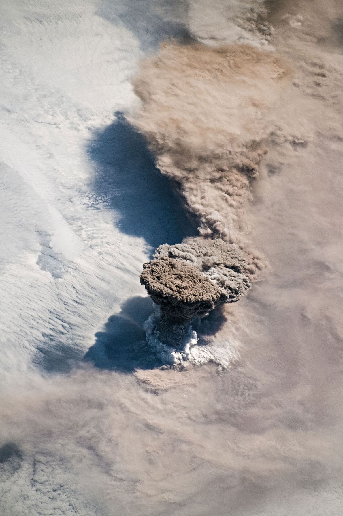 On the morning of June 22, astronauts aboard the International Space Station took this photo of ...