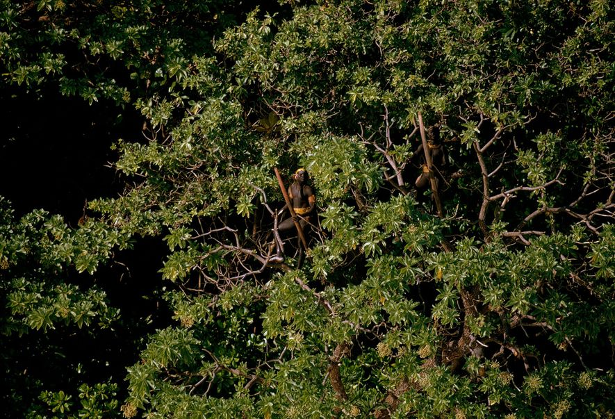 Believed to number no more than a few hundred, the Sentinelese are deft archers and the ...