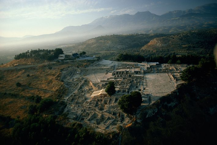 Phaistos, on the island of Crete, was one of the most important centres of Minoan civilisation. ...