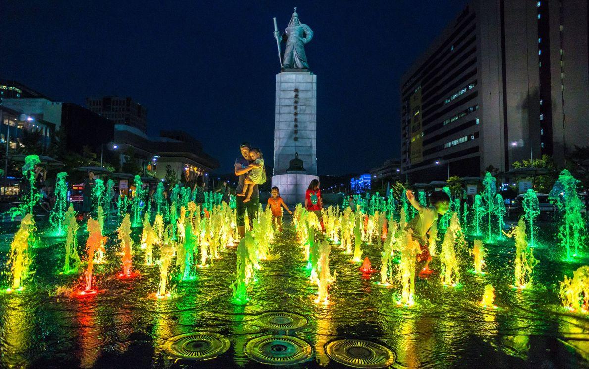Gwanghwamun Square, Seoul, South Korea