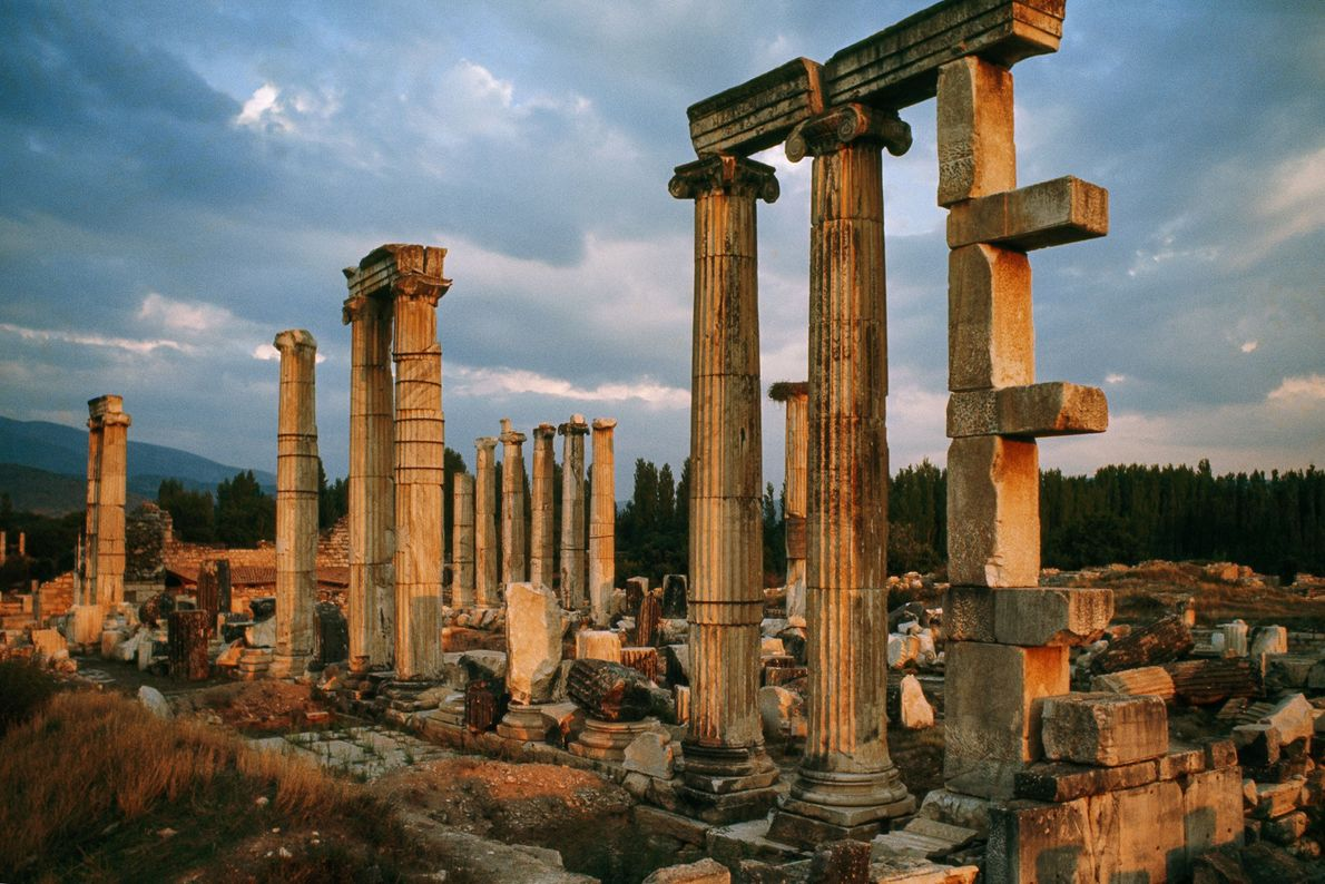 Now a World Heritage Site, this wealthy ancient Greco-Roman city has been the centre of ongoing ...
