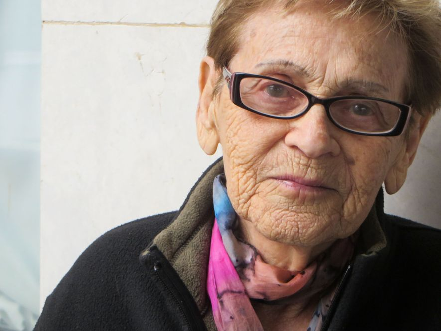 This photograph of Edith Grosman, then 92, was taken in Poprad, Slovakia, on March 24, 2017—the ...