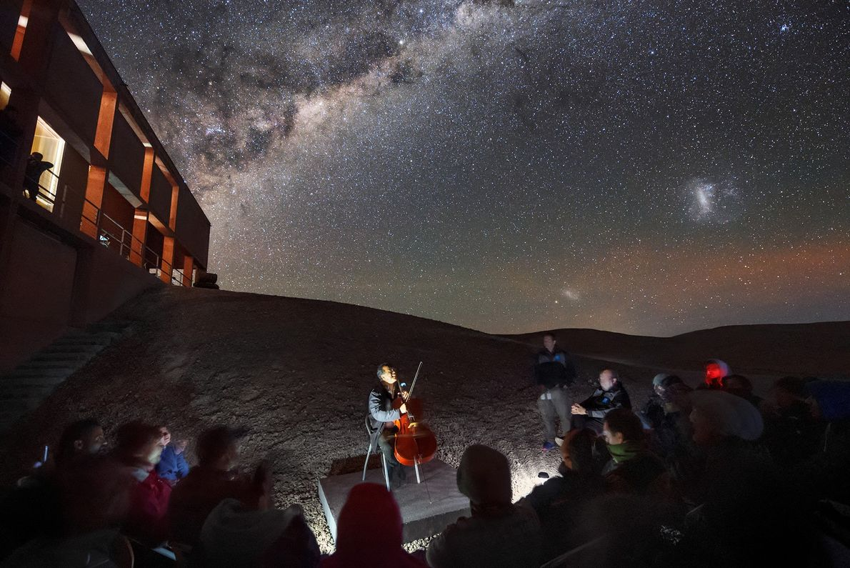 ]In space, no one can hear you scream—but they just might hear celebrated cellist Yo-Yo Ma. ...