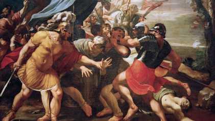 The brutal beheading of Cicero, last defender of the Roman Republic