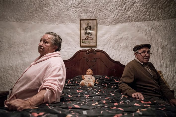Piedad Mezco and Antonio Ortiz have lived all their lives in the caves of Guadix. They ...