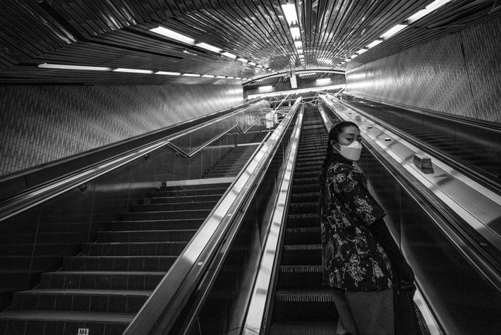 The pandemic has caused New York City to limit subway service, even though many residents still ...