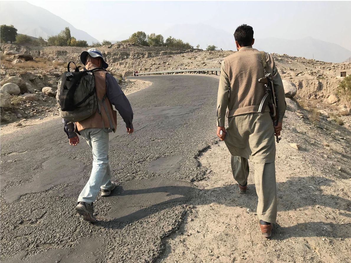 Along a few stretches of the trail through Pakistan, such as a region of Gilgit-Baltistan troubled ...