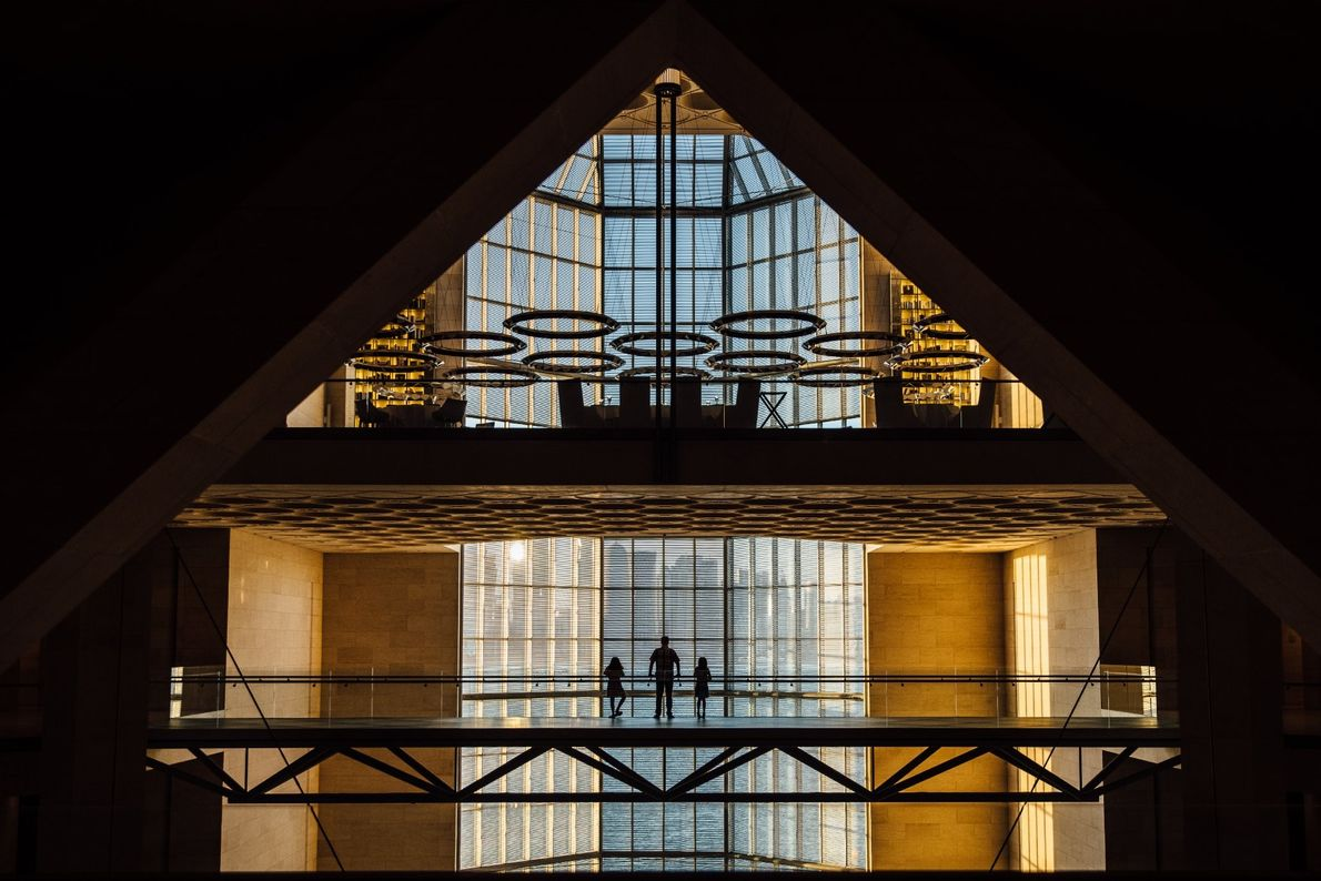 Your Shot photographer Amy Murgatroyd visited the Museum of Islamic Art on a quiet day in ...