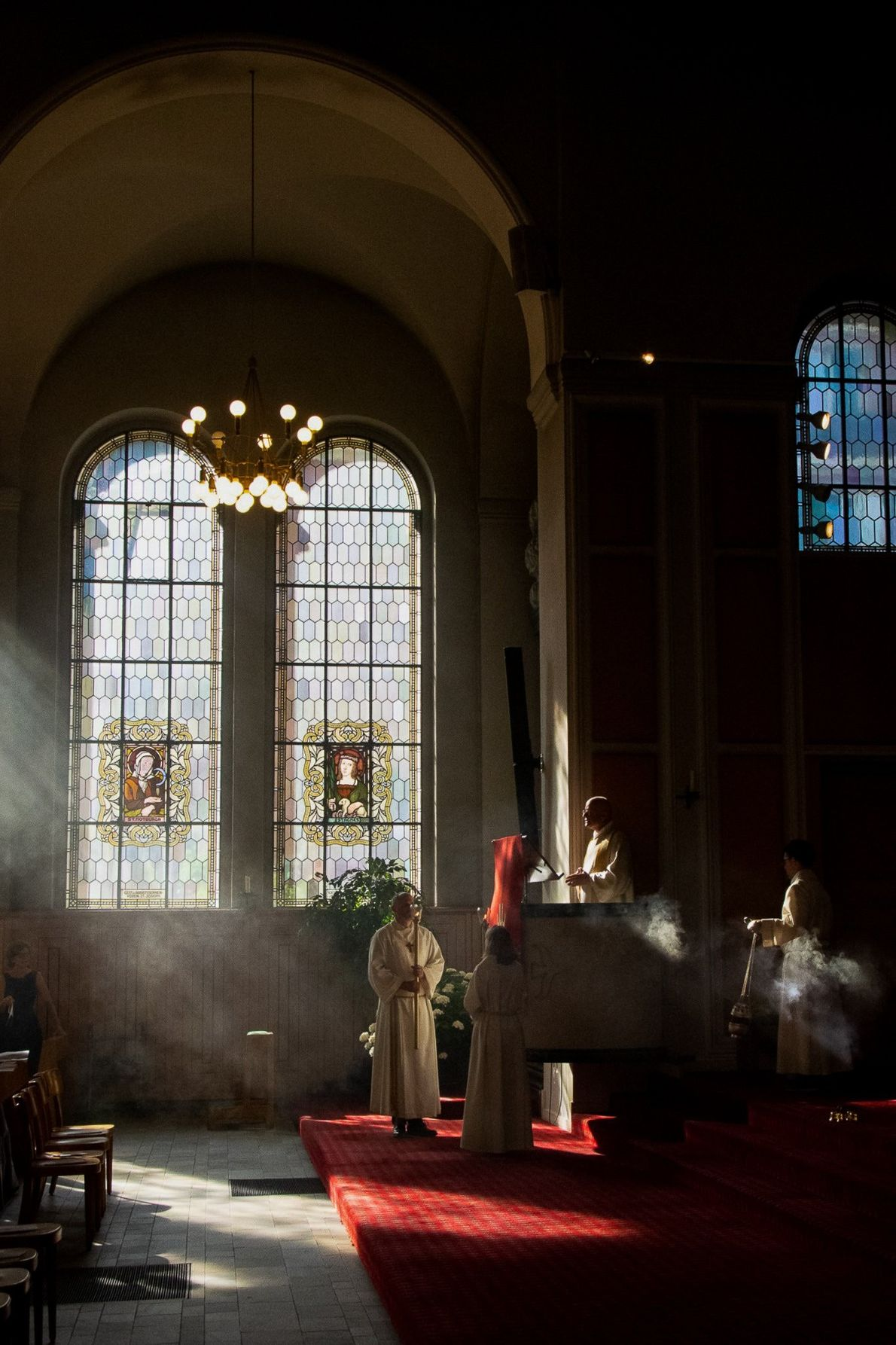 Your Shot photographer Agnieszka Skalska documented this scene during a confirmation ceremoney in the Swiss Church. ...
