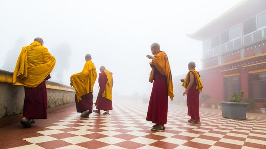 """""""I love visiting monasteries, it brings peace to mind and soul,"""" writes Your Shot photographer Surendra ..."""