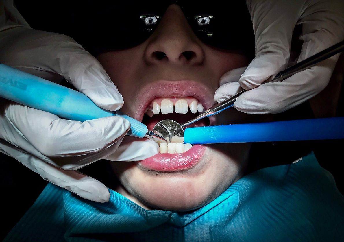 """""""Every six months my family go to the dentist for a cleaning and check up,"""" writes ..."""
