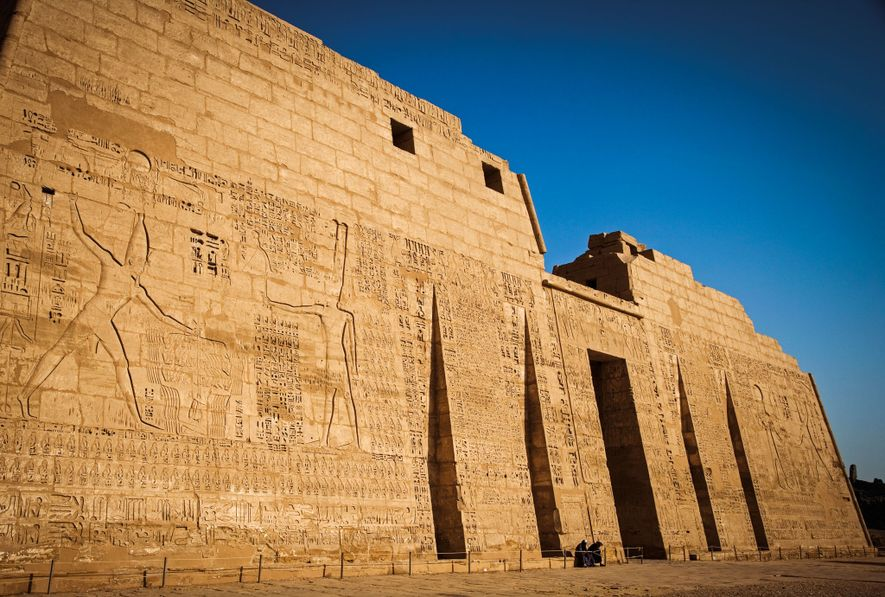 Native Egyptians were not the only ones subject to the king's severe justice. The first pylon ...