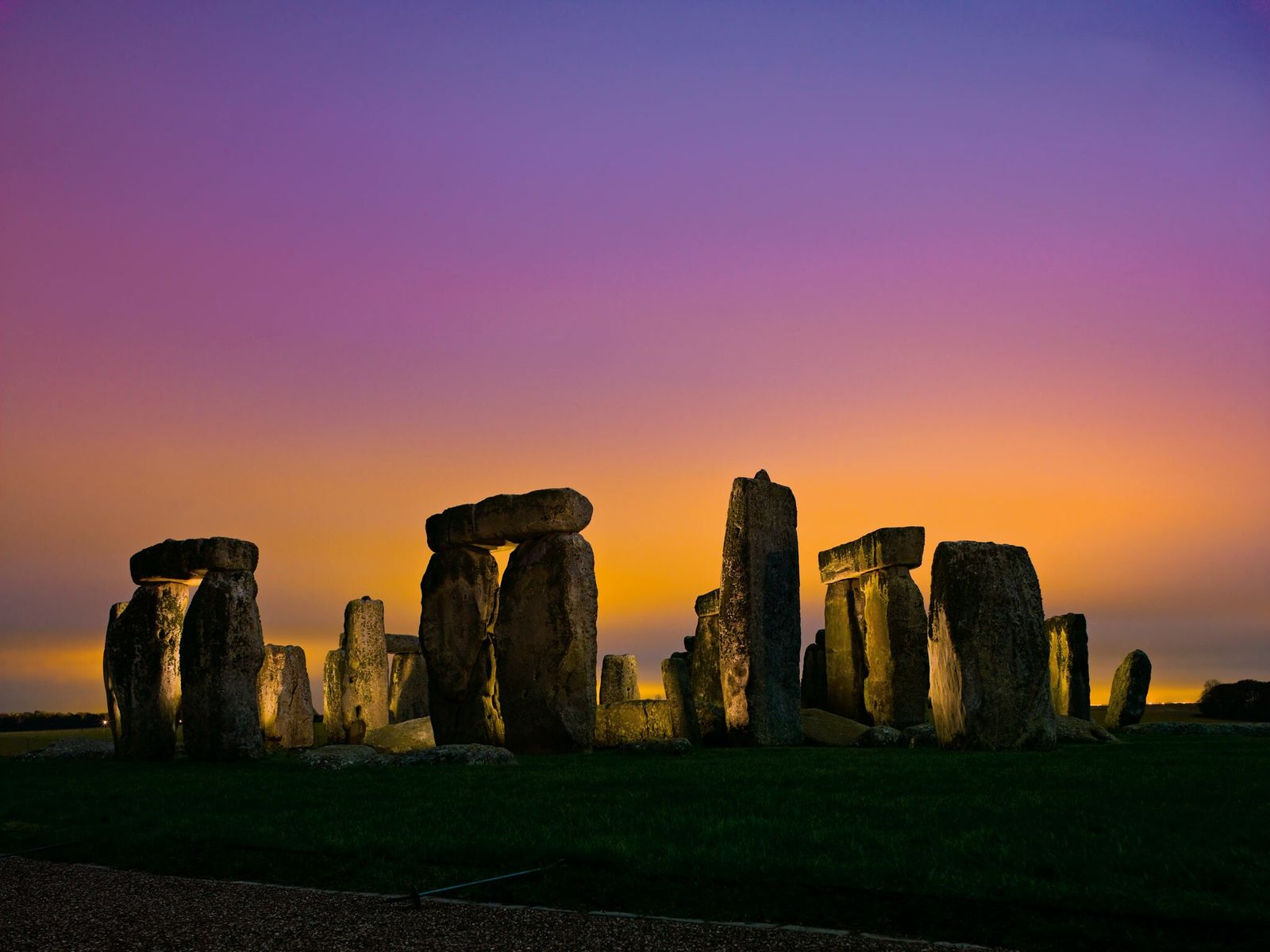 Stonehenge, completed some 4,600 years ago, may be fashioned in part from elements of older megalithic ...