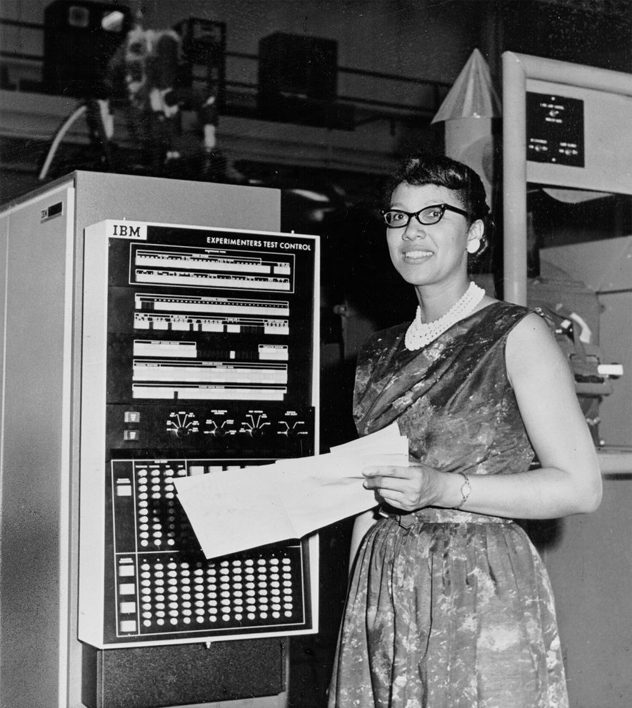 Melba Roy headed the group of mathematicians who worked on a pioneering communications satellite experiment for NASA's Goddard Space Flight Center in the 1960s.