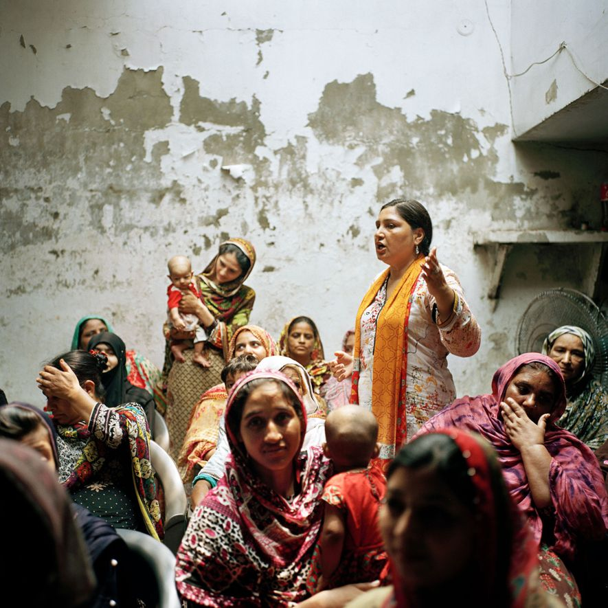 """""""As I stood in a room full of about fifty women, on the outskirts of Lahore, ..."""
