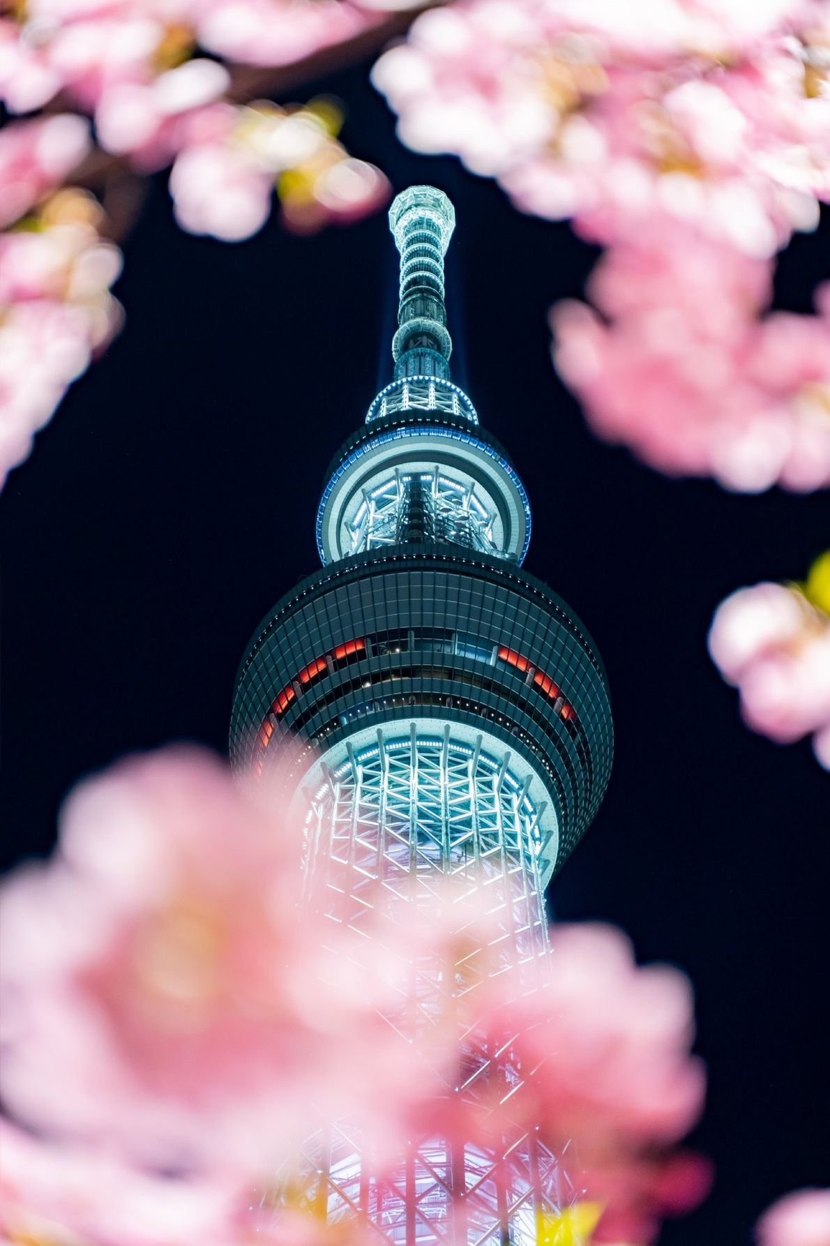 Your Shot photographer S. Tanaka composed the Tokyo Skytree, the world's tallest tower at 634 meters, ...