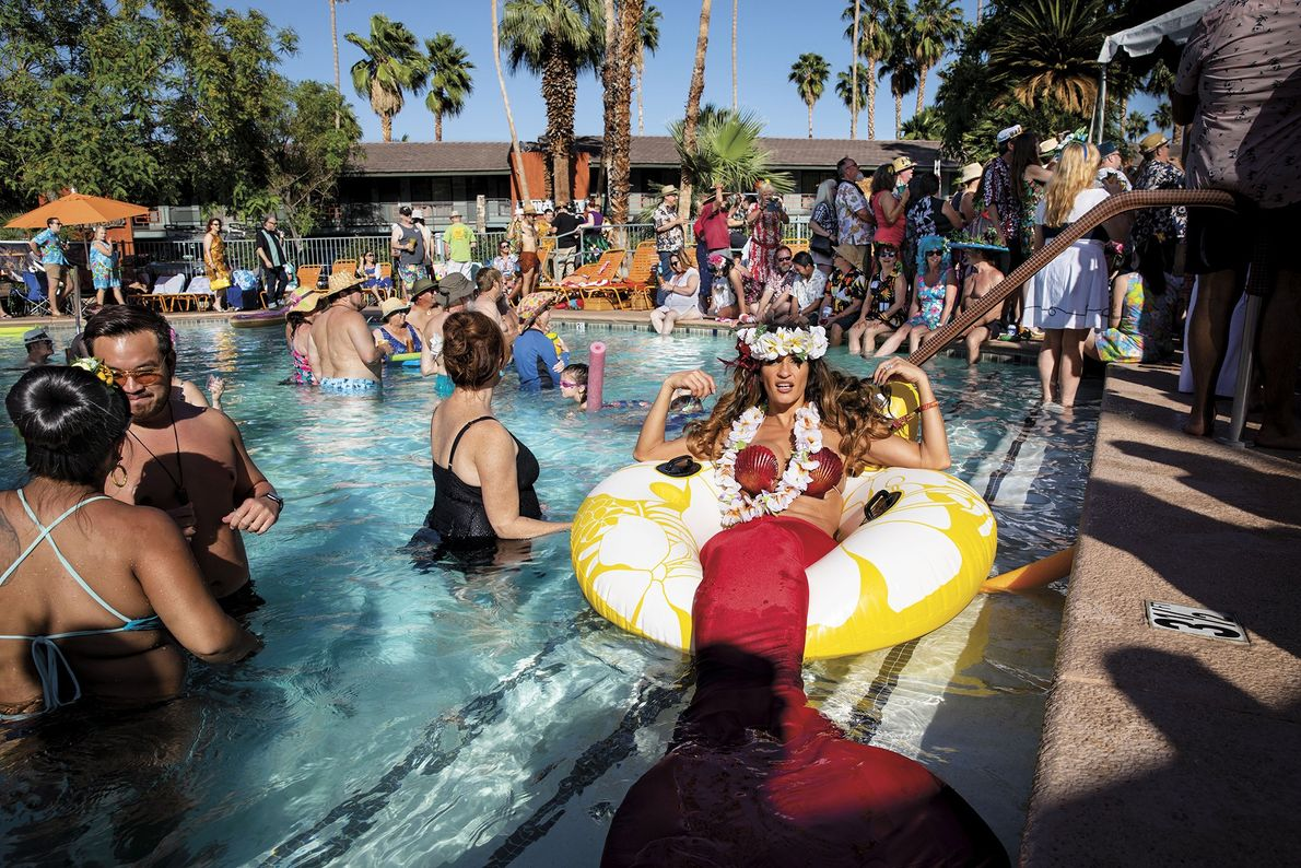 Every year, Tiki enthusiasts and collectors take over Palm Springs' Caliente Tropics Resort for the weekend ...