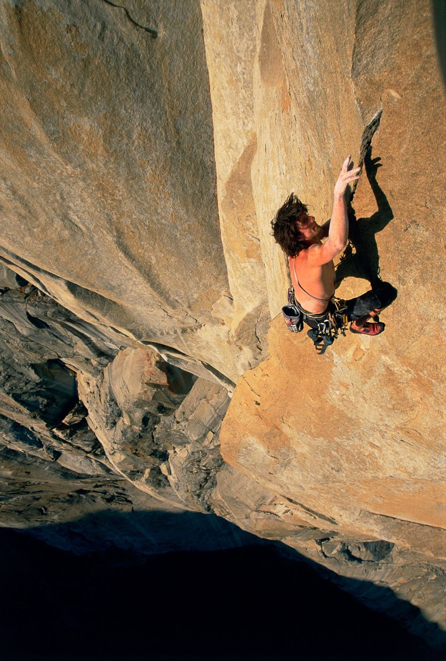 Dean Potter, shown here in Yosemite, was another young free soloer making headlines. He died in ...
