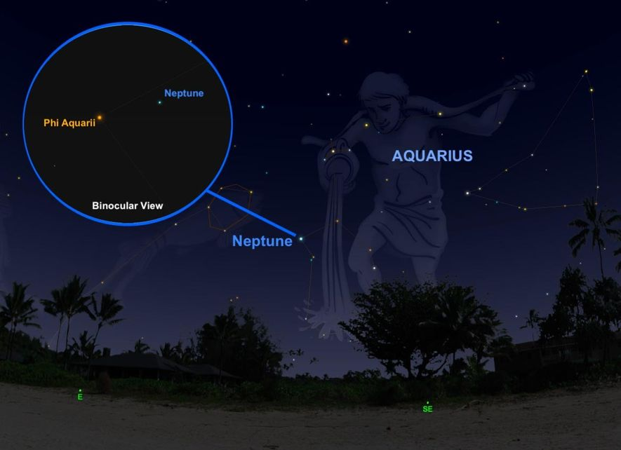 On September 10, the ice giant Neptune will be its bluest and brightest—but to find it ...