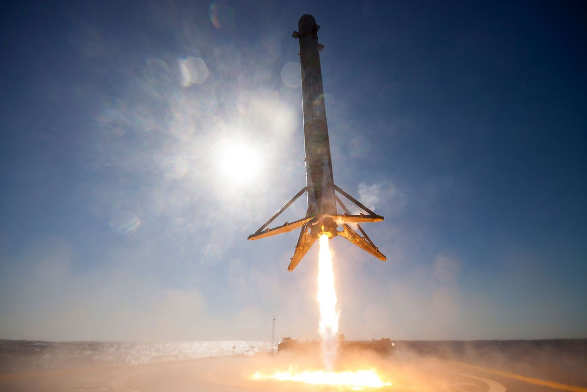 Not every SpaceX rocket can feasibly work its way back to land, so the company built ...