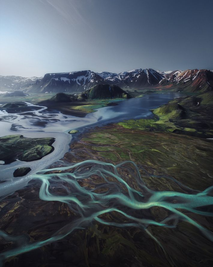 Your Shot photographer Simona Buratti used a drone to capture this aerial view of the highlands ...