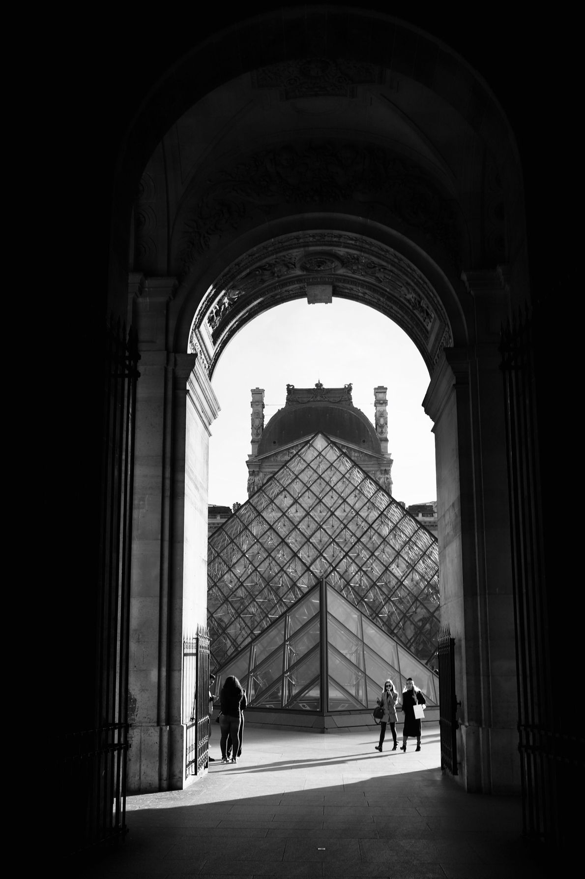 In 1989, Chinese-American architect I. M. Pei's 72-foot-high, metal-and-glass pyramid debuted in the courtyard of the ...