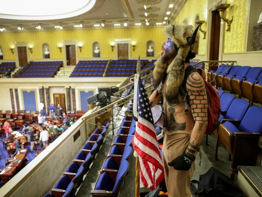 Terrifying pictures show chaos as mob storms U.S. Capitol