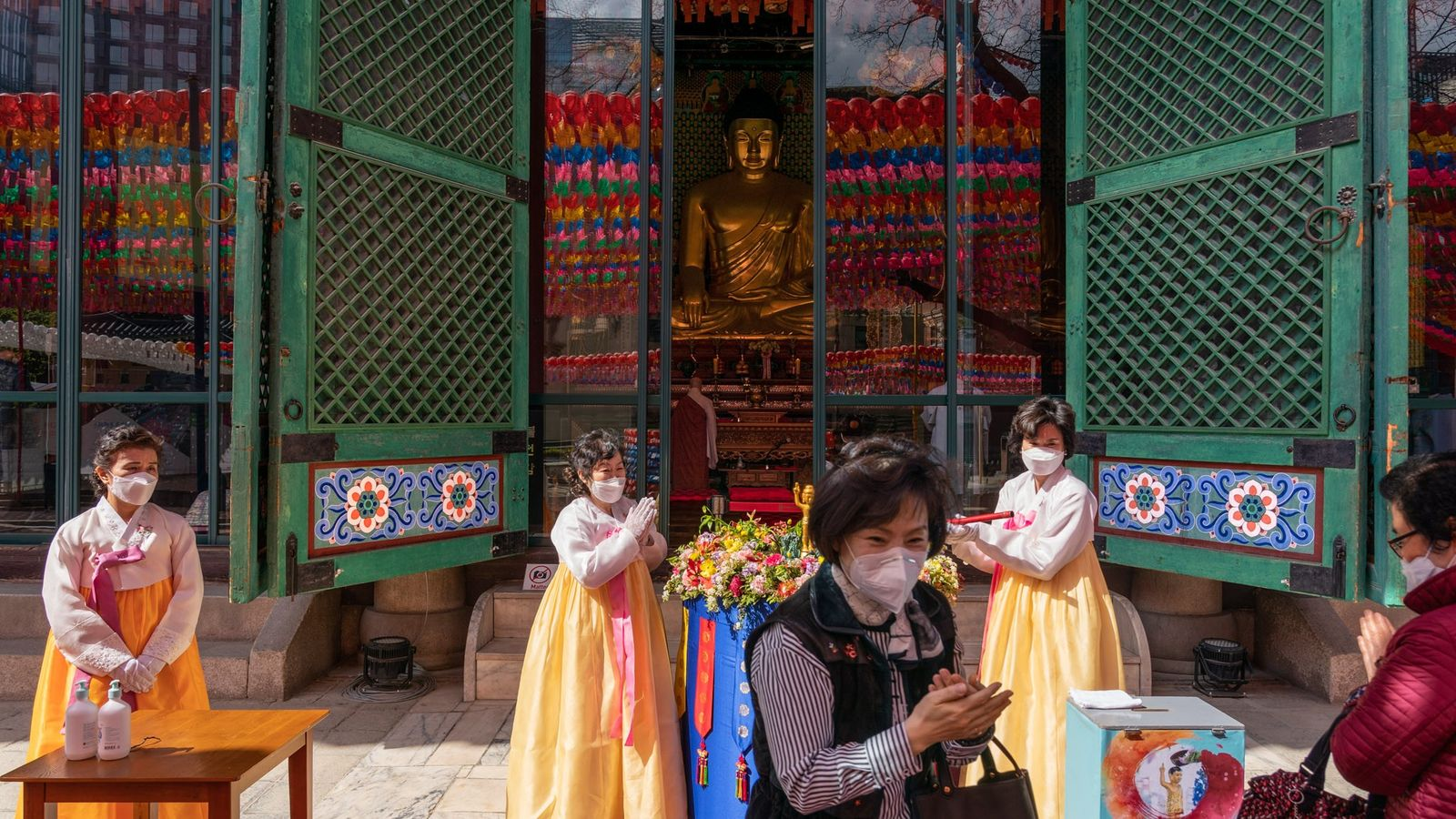 At the peak of South Korea's COVID-19 outbreak, the government advised against all religious gatherings. As ...