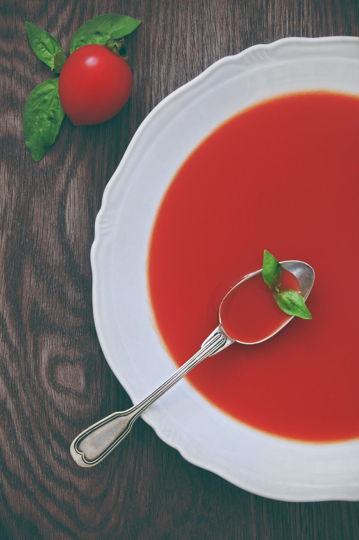 Your Shot photographer Yuliy Vasilev made this still life image of tomato soup.