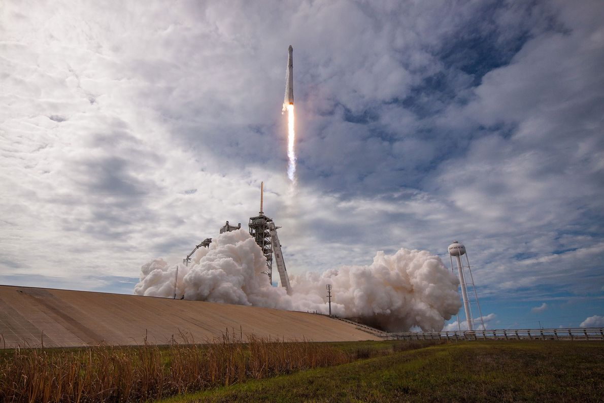 Once SpaceX demonstrated a knack for recovering used rockets, they took things to the next level: ...