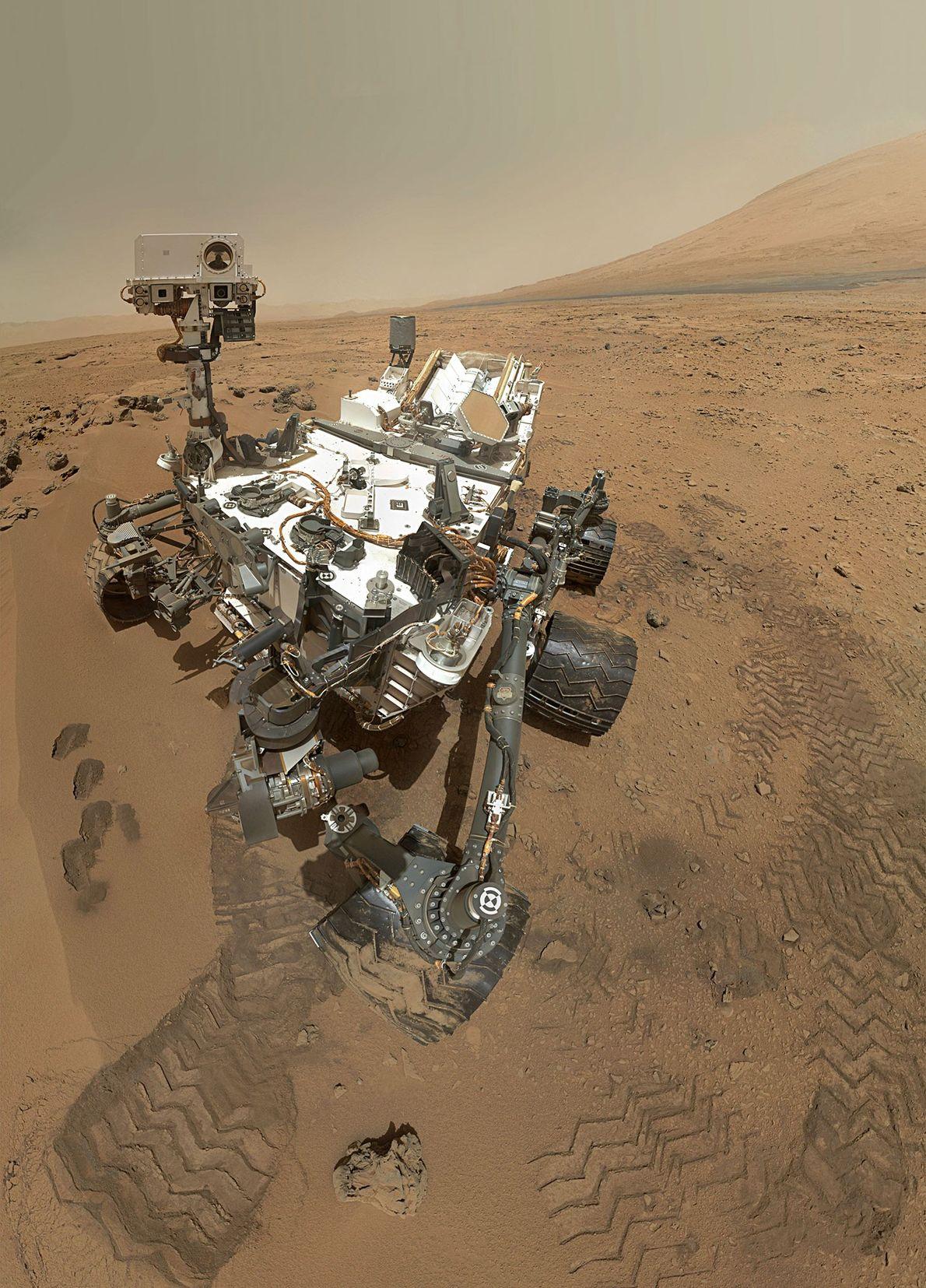 Mars Selfie