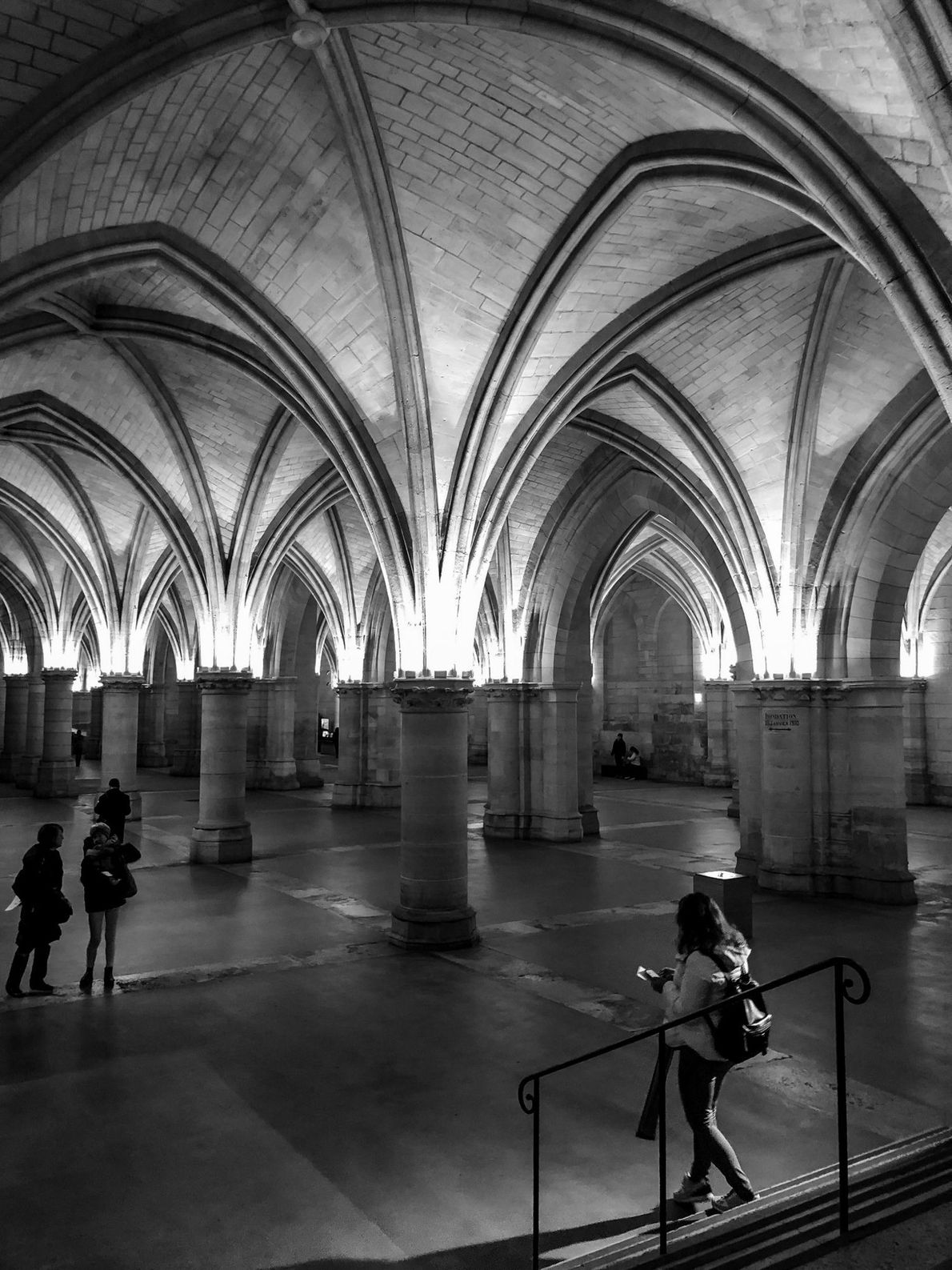The Kings of France left medieval palace Conciergerie at the end of the 14th century and ...