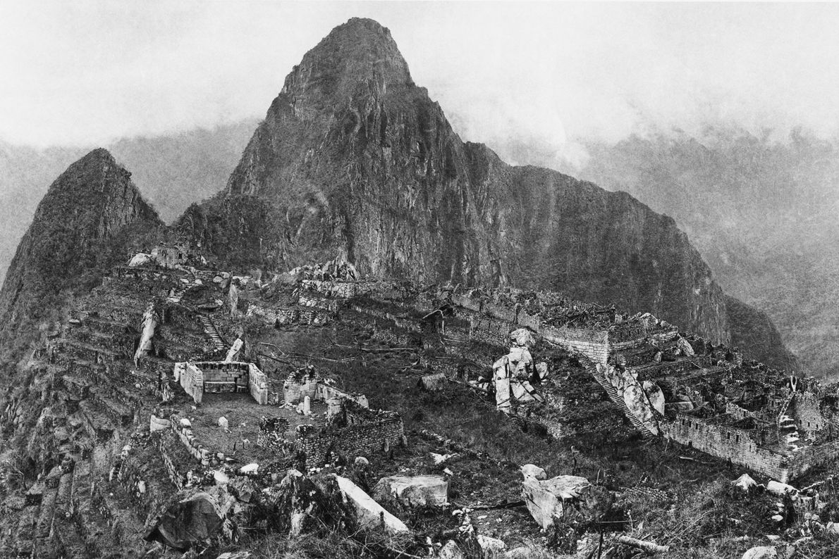 Between 1912 and 1915, a young National Geographic Society supported Hiram Bingham's excavation of the 'lost' ...