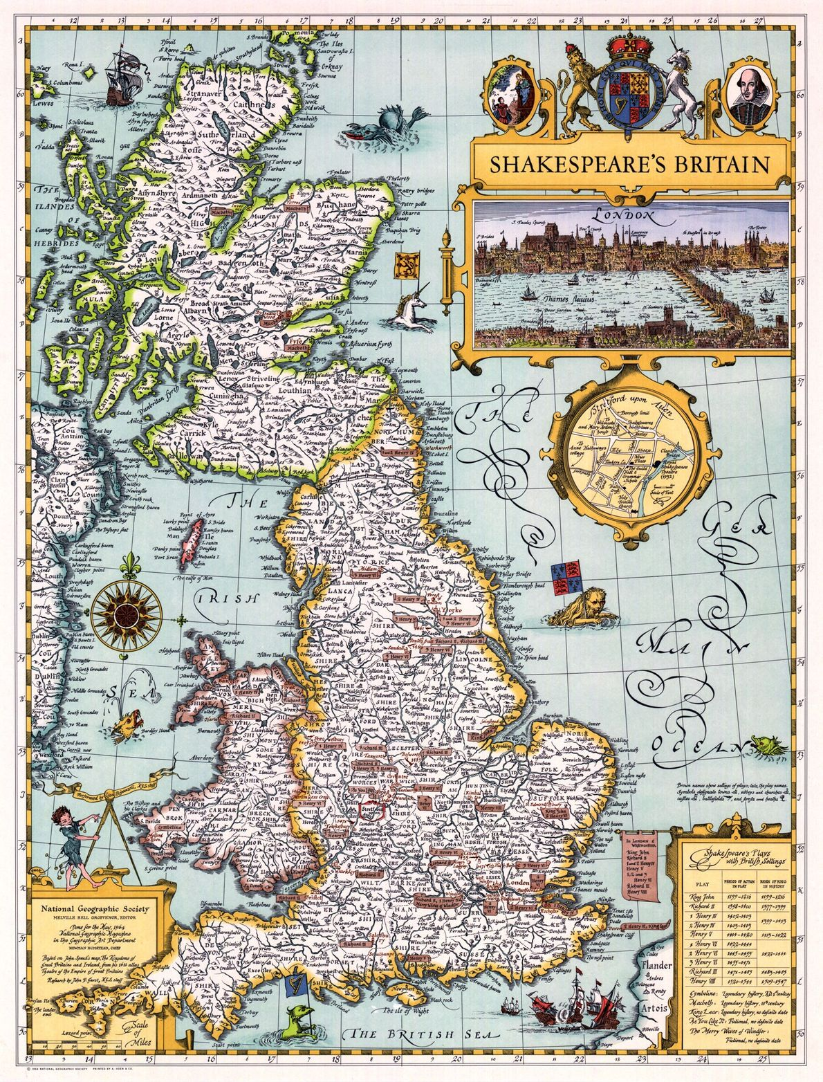 1964 Shakespeare's Britain