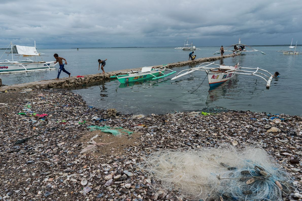 Ocean plastic remains a major problem in the region.