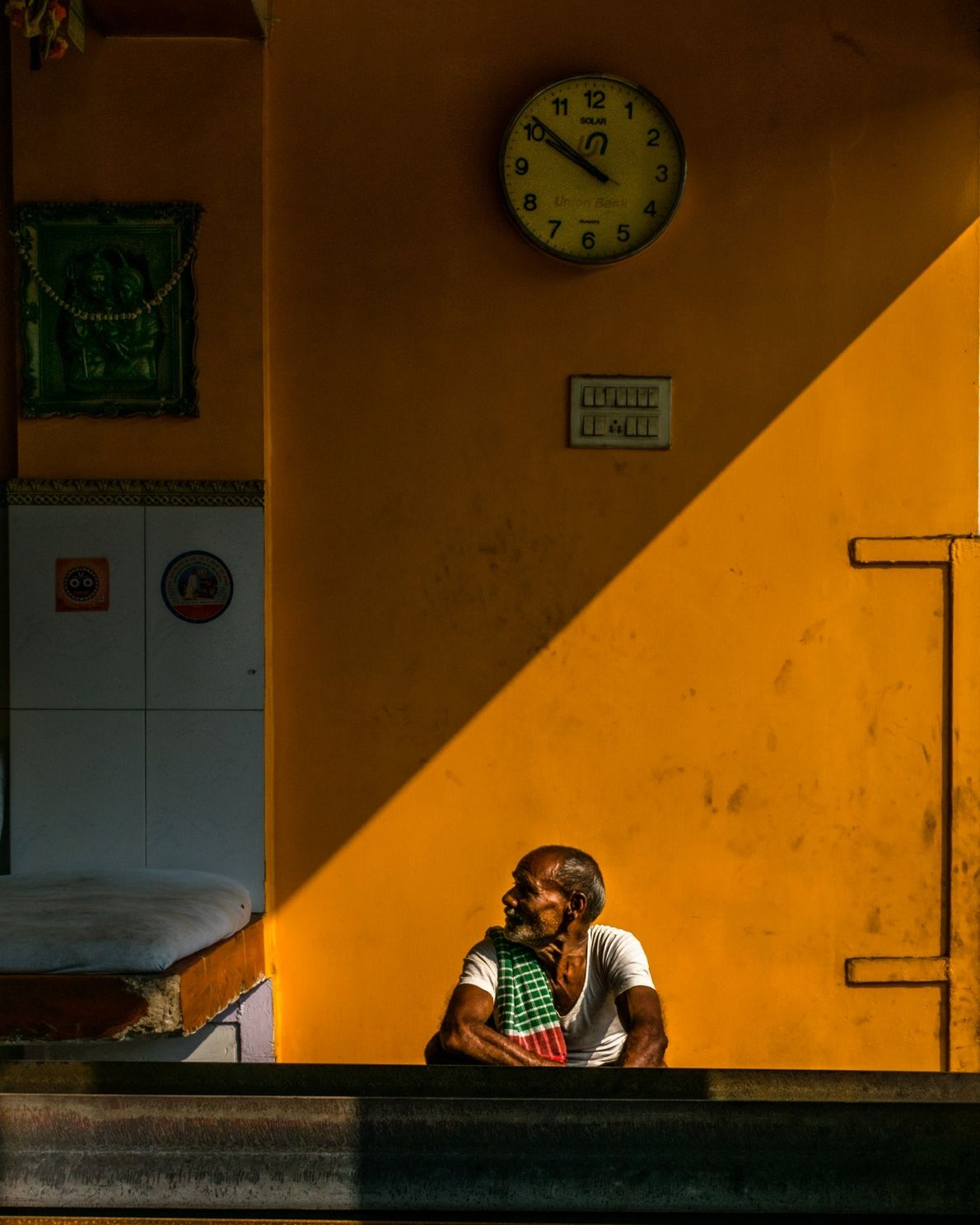 Your Shot photographer Oindrila Ghosh made this portrait of a man while he took a break ...