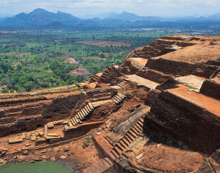 Sigiriya fuses function and design. The need for fresh water and the desire for beauty were ...