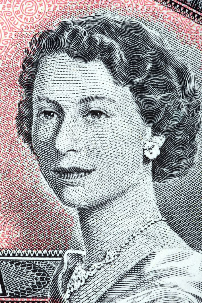 Queen Elizabeth II appears on a 1954 Canadian two-dollar bill. Canada became the first country to ...