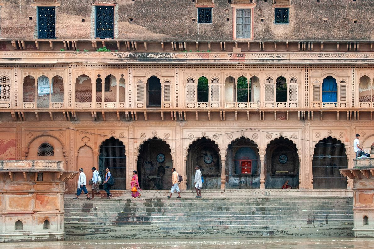 Situated on the bank of the Yamuna River, Keshi Ghat is one of the most popular ...