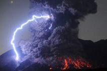 Volcanoes not only generate stunning flows of incandescent rock, but also extraordinary flashes of lightning. Such ...